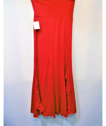 Faldas Flamencas De Ensayo Roja