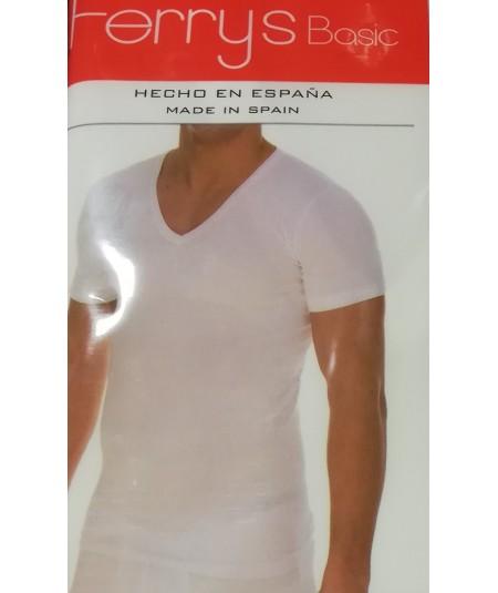 Camiseta Blanca Básica Caballero