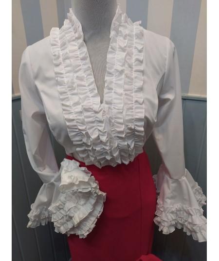 Blusa Flamenca Garrucha